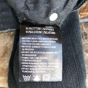 IT'S ME Jeans - IT'S ME DISTRESSED BLACK DENIM JEANS